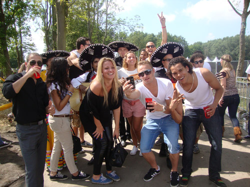 Entertainment mexicaans themafeest